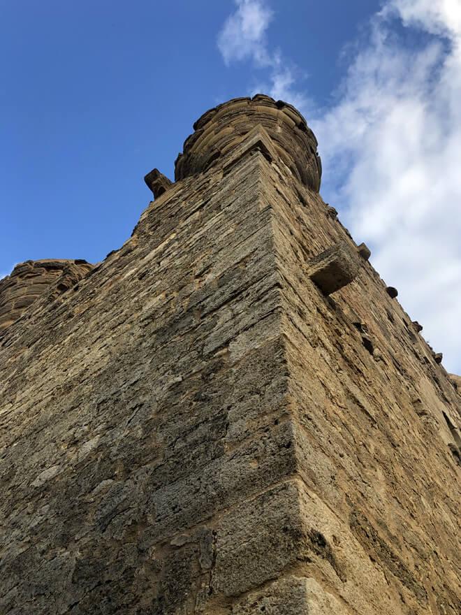 Quel castle detail