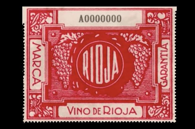 Uno de los primeros sellos del Consejo Regulador