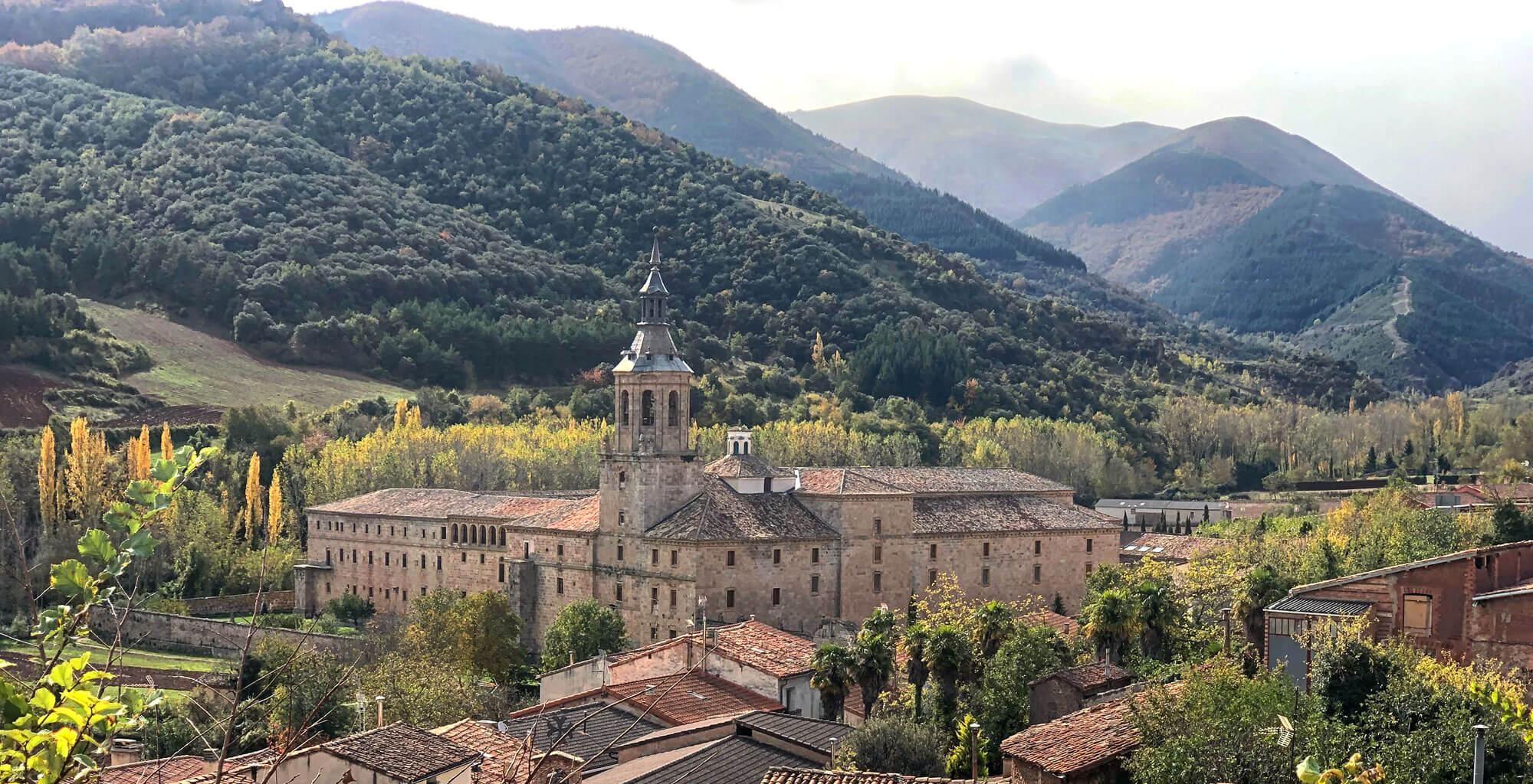 El Monasterio de San Millán de la Cogolla, esencial en la historia del Rioja y el cultivo del vino en la región