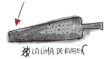 La lima de Rubén